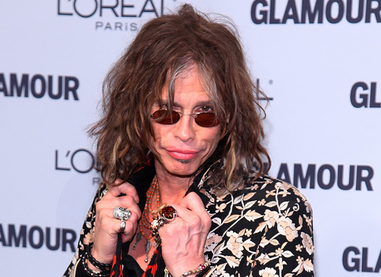 steven tyler plastic surgery before and. Steven Tyler has gone bananas.